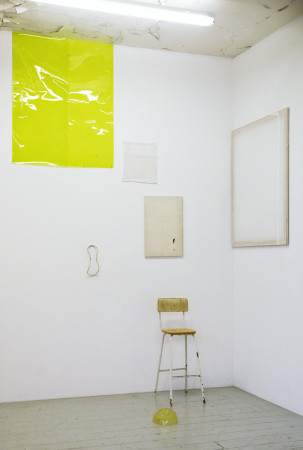 Ian Kiaer, Melnikov project, chair (yellow), 2012