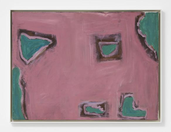 Betty Parsons, Through Green, 1965
