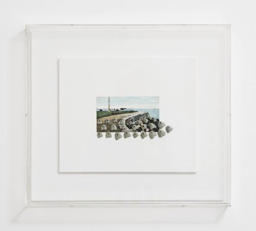 Hannah Wilke, Sea Wall, 1975