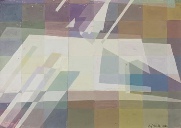Lygia Clark, Composiçao, 1952