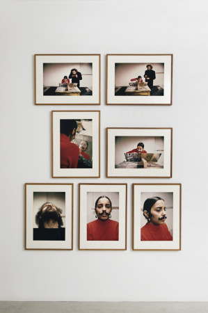 Ana Mendieta, Untitled (Facial Hair Transplants), 1972