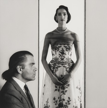 Robert Mapplethorpe, Paris Fashion / Dovanna, 1984