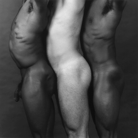 Robert Mapplethorpe, Derrick Cross and friends, 1982