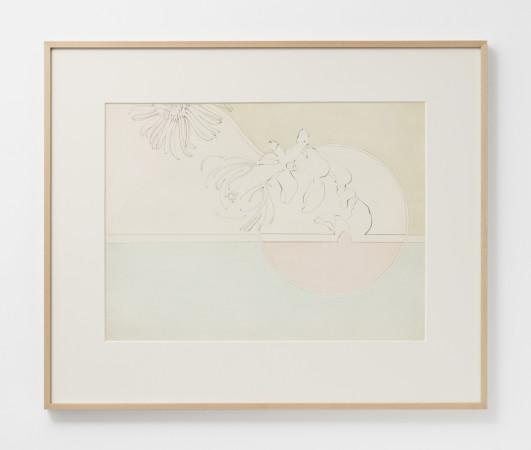 Hannah Wilke, Untitled (Daisies), c. 1966-67