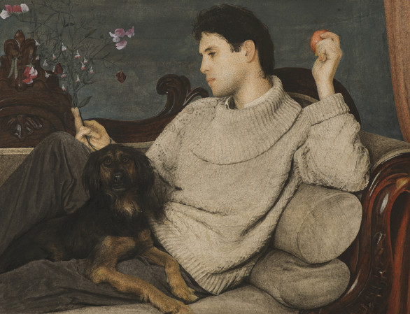 Graham Little, Untitled (Man and Dog), 2019
