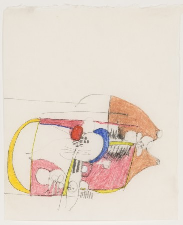 Hannah Wilke, Untitled, ca.1960s