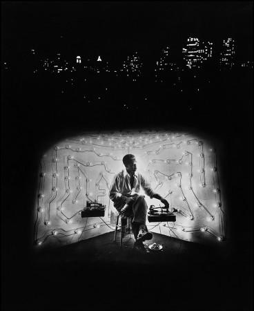 Gordon Parks, Invisible Man Retreat, Harlem, New York, 1952