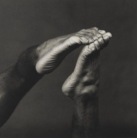 Robert Mapplethorpe, Feet, 1982