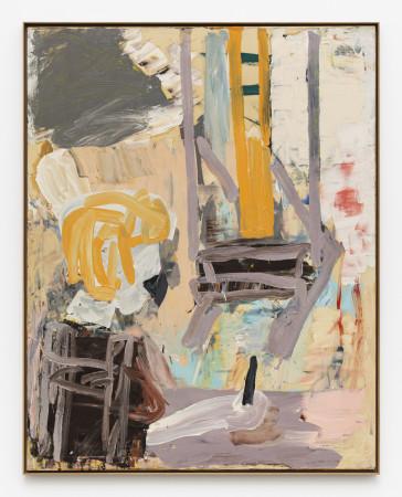 Roy Oxlade, Orange Easel, 1987