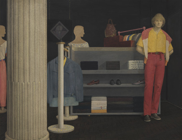 Graham Little, Untitled (Boutique), 2019