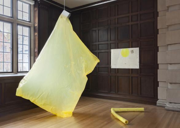 Ian Kiaer, Endnote, Ledoux (yellow), 2016