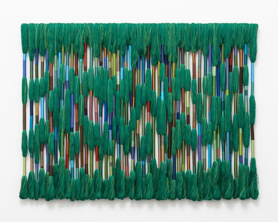 Sheila Hicks, Esmeralda (Emerald Forest), 2019