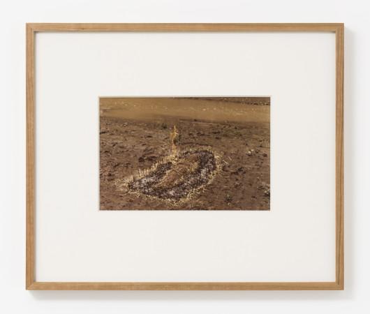 Ana Mendieta, Untitled: Silueta Series (Figure with Hay Burned), 1977