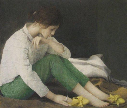 Daffodil Shoe Lady, 2010