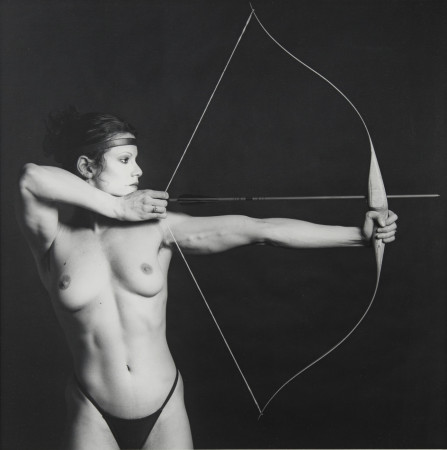 Robert Mapplethorpe, Lisa Lyon, 1982