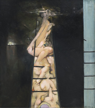 Dorothea Tanning, To Climb a Ladder, 1987