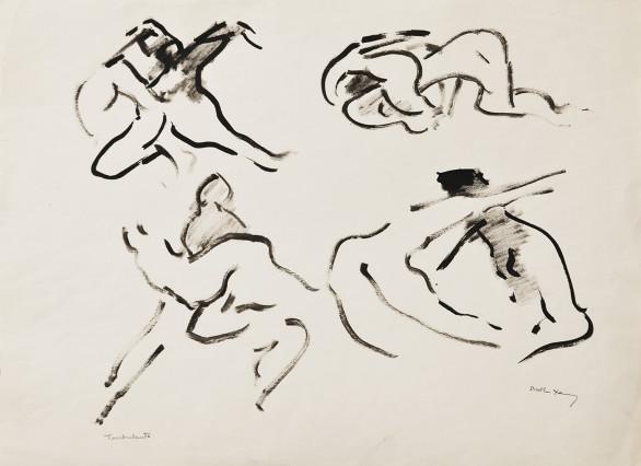 Dorothea Tanning, Turbulents, c. 1960s