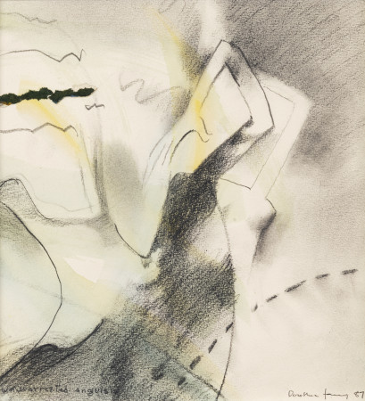 Dorothea Tanning, Unwarranted Anguish, 1987