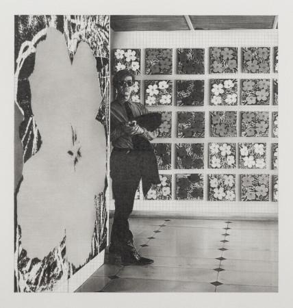 "Dan Fischer, Warhol ""Flowers"", 2020"