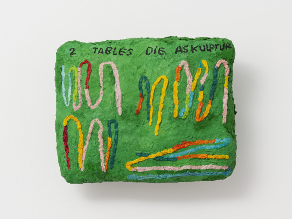 Sophie Barber, 2 Tables die Askulptur, 2020