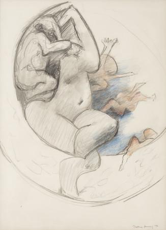 Dorothea Tanning, Study for Murmurs, 1976
