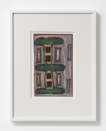Betty Parsons, Untitled (House Facade), 1971