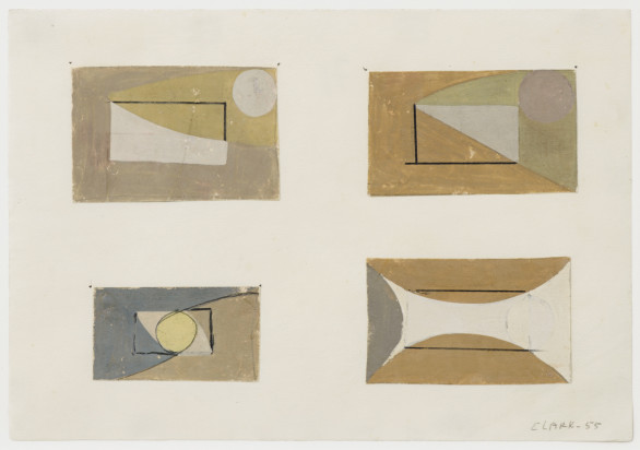 Lygia Clark, Geometria Amorosa, 1955