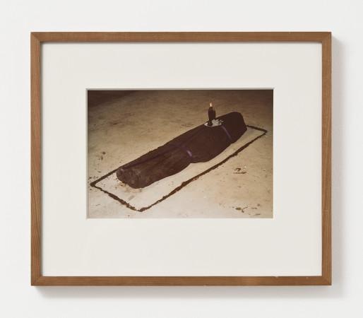 Ana Mendieta, Black Ixchell, Candle Ixchell, 1977