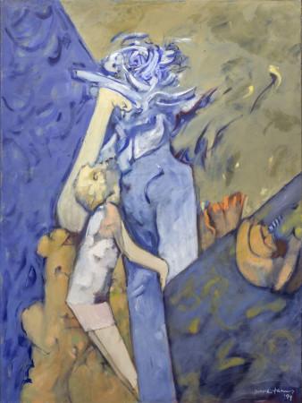Dorothea Tanning, Blue Mom, 1994