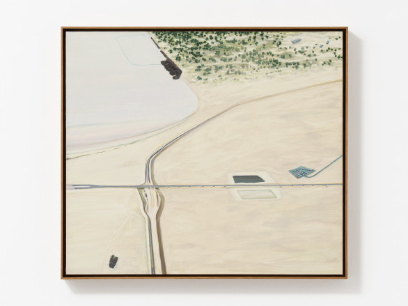 Carol Rhodes, Sea and Motorway, 1998