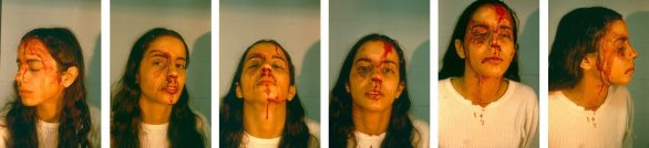 Untitled (Self Portrait with Blood), 1973