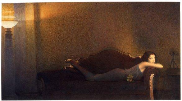 Graham Little, Chaise Longue Lady, 2005