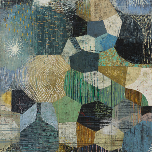 Claire B Cotts, A Storm Far Out at Sea