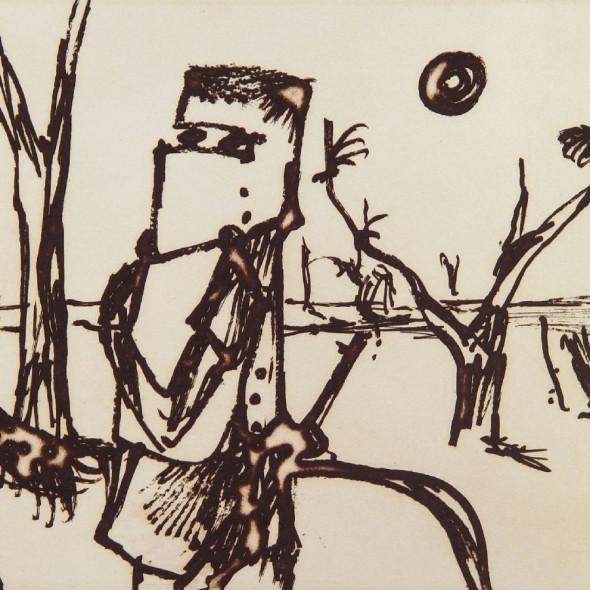 Sidney Nolan - Kelly, c. 1971