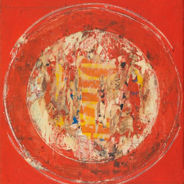 Reinhold Koehler, Plakat-Décollage, 1959