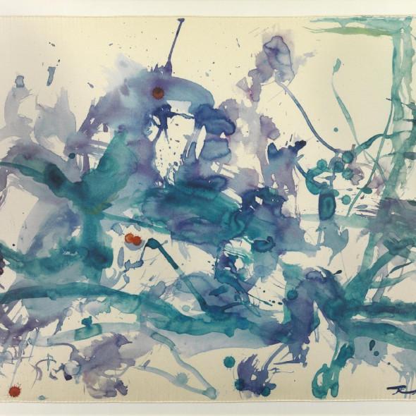 Zao Wou-Ki - Untitled, 2011
