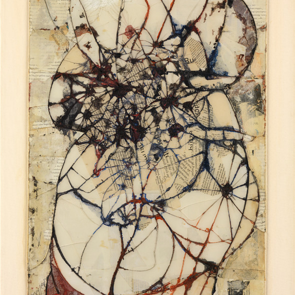 Reinhold Koehler, Contre-Collage 1964, 1964