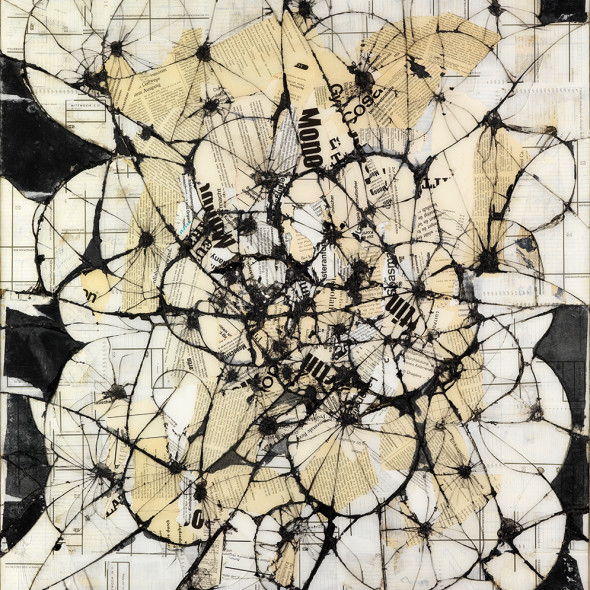 Reinhold Koehler, THORAX, Contre-Collage, 1964