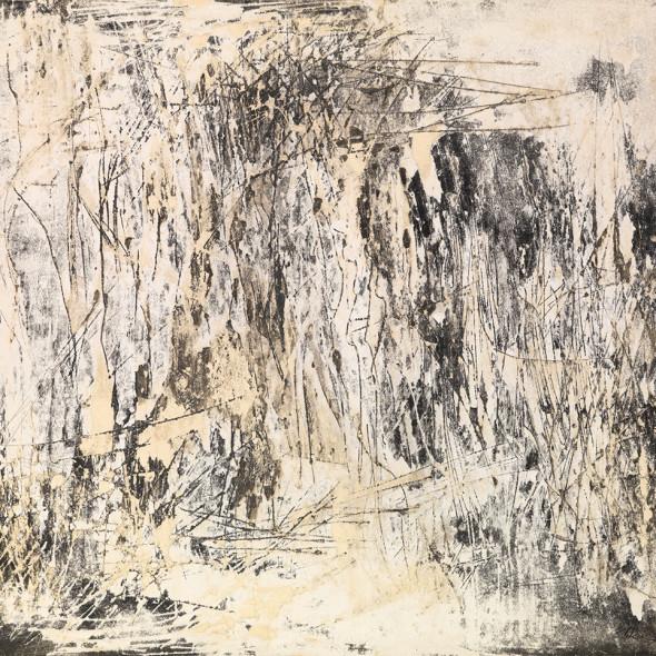 Reinhold Koehler, Décollage 1958 II/2, 1958