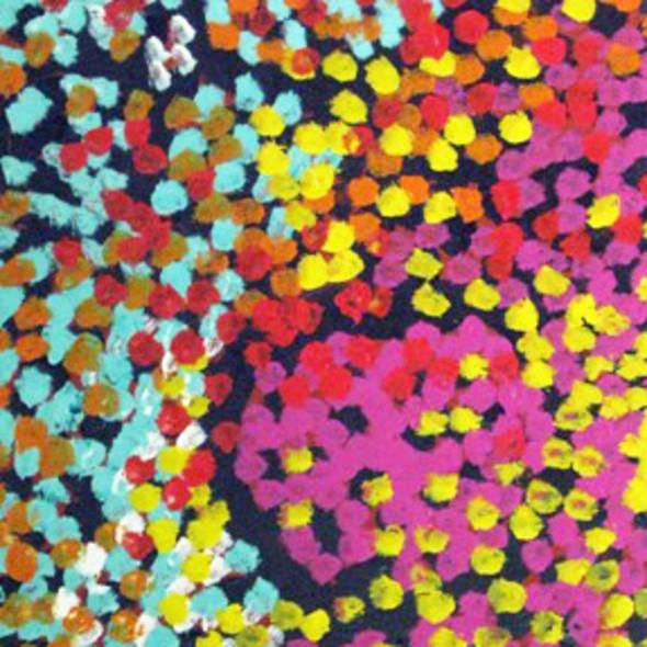 Lorna Napurrula - Caterpillar Dreaming 02, 2006