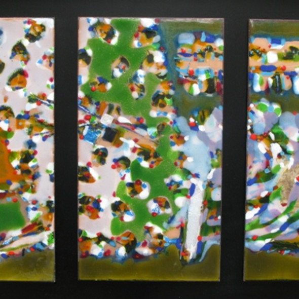 Stefan Knapp - Triptych, 1956