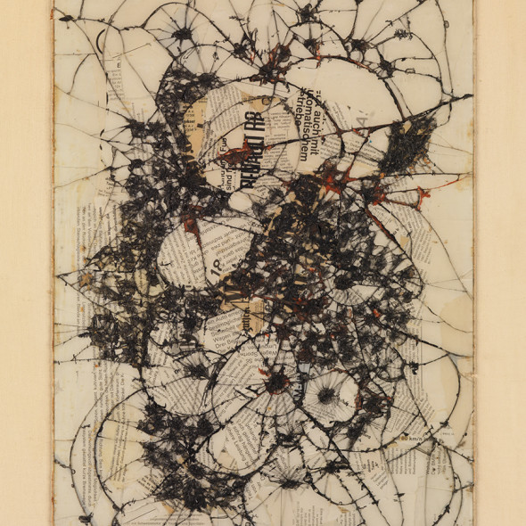 Reinhold Koehler, Thorax Fragment, Contre-Collage, 1963