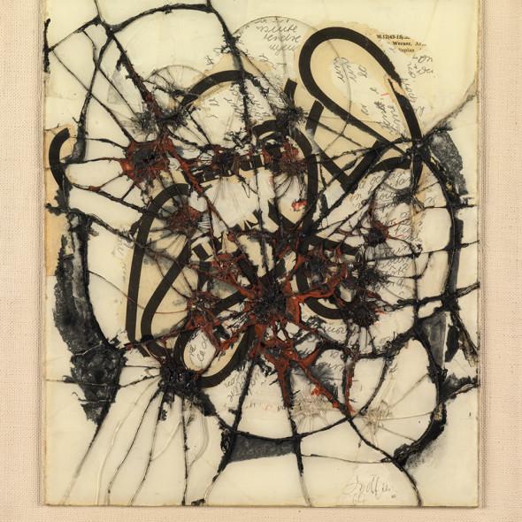 Reinhold Koehler, Contre-Collage Thorax 1963/64, Hommage à Leonardo, 1963/64