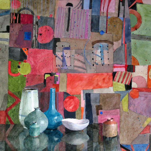 Annie Williams RWS RE - Pots & Patterns
