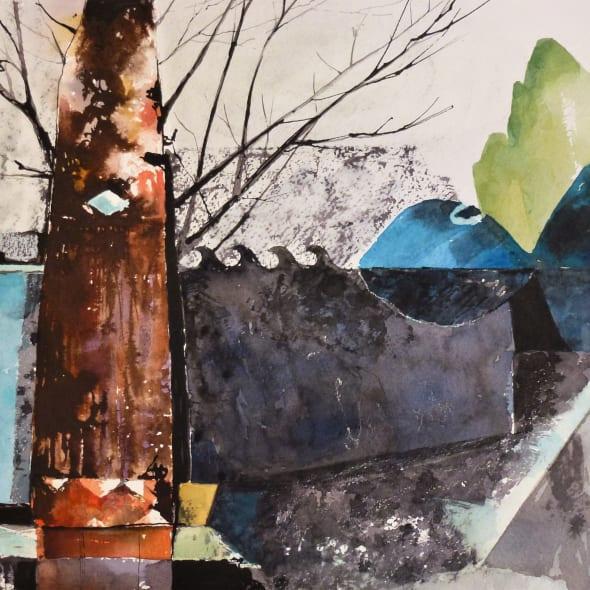 Claire Denny ARWS - Water Garden