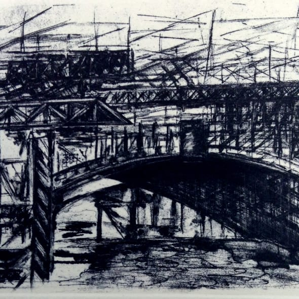 Jackie Newell RE - Blackfriars Bridge One Arch