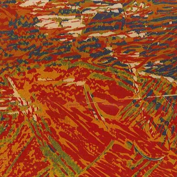 Terence Greaves RE - Homage to Hokusai