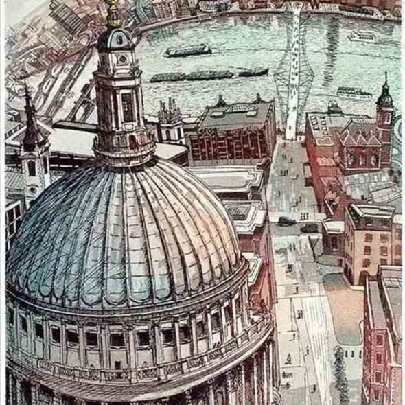 Glynn Thomas RE - The Dome of St Pauls