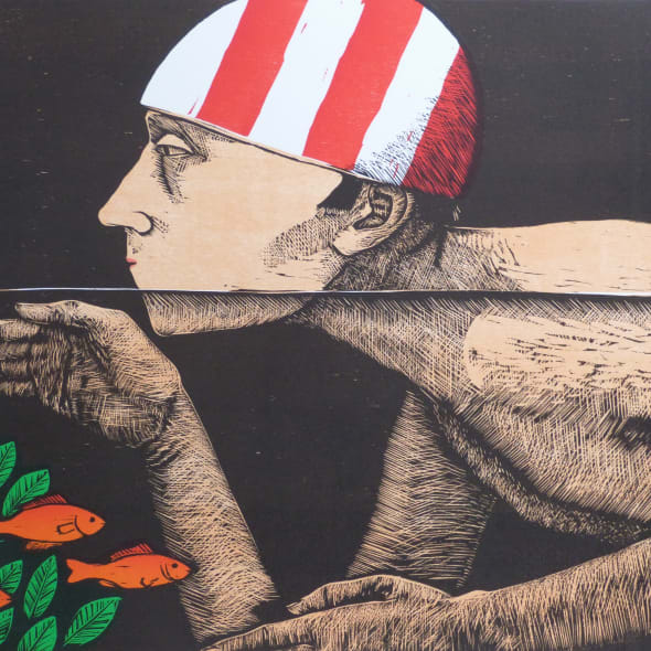 Frans Wesselman RE - Swimmer