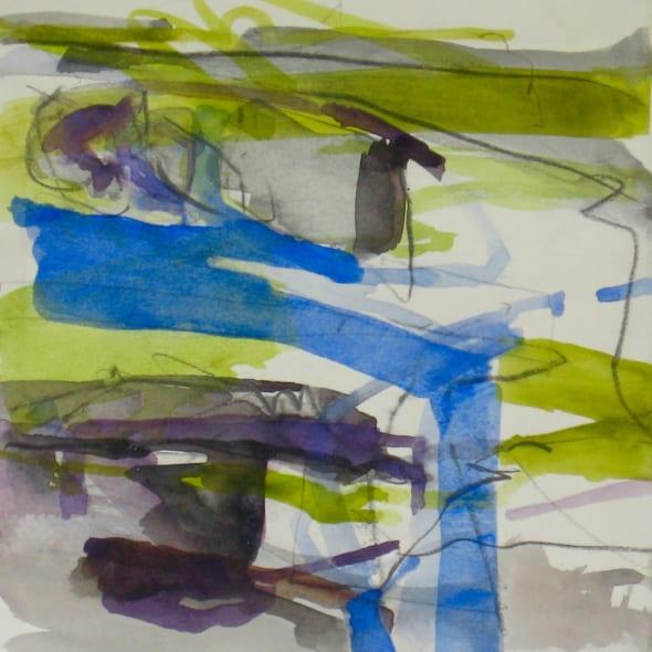 Jane Lewis RWS - Burnham Over Staithe